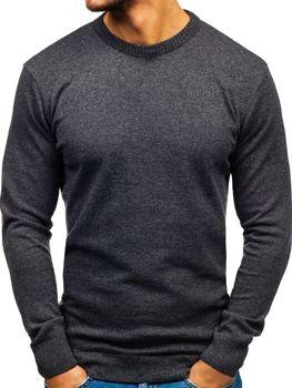 Antracitový pánsky sveter BOLF 6001 34632ff8716