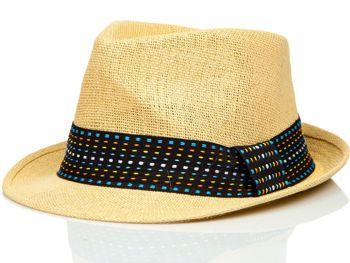 Béžový pánsky klobúk BOLF KAP216