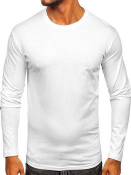 Biely pánsky nátelník bez potlače BOLF 1209