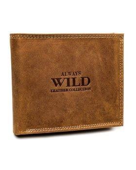 Bledohnedá pánska kožená peňaženka 7924