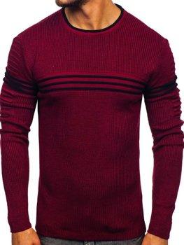 Bordový pánsky sveter Bolf 0001