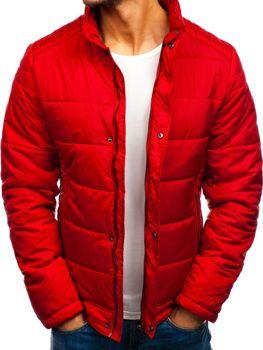 Červená pánska prechodná bunda Bolf 83338
