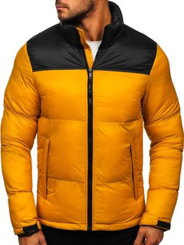 Červená pánska zimná bunda Bolf HY821