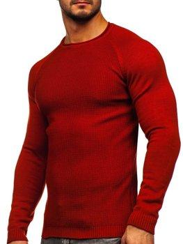Červený pánsky sveter Bolf 1009