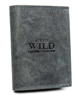 Čierna pánska kožená peňaženka 7925