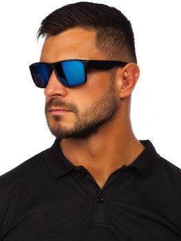 Čierno-modré slnečné okuliare Bolf PLS4
