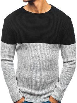 Čierny pánsky sveter BOLF 164