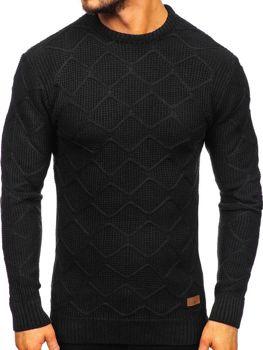 Čierny pánsky sveter Bolf 1901
