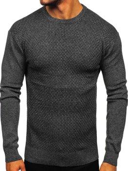 Čierny pánsky sveter Bolf 8512