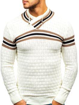 Ecru pánsky sveter BOLF 6006