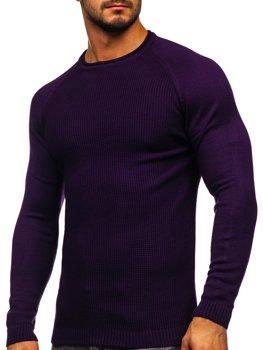 Fialový pánsky sveter Bolf 1009