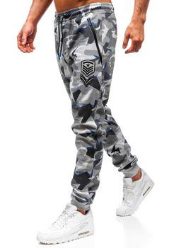 Grafitové pánske teplákové joggery BOLF Q3850