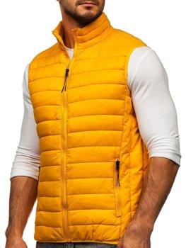 Kamelová pánska prešívaná vesta Bolf HDL88001