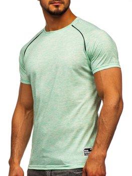 Mätové pánske tričko s potlačou Bolf SS11125