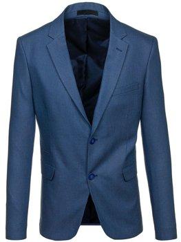 Modré pánske elegantné sako BOLF 1050