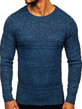 Modrý pánsky sveter Bolf H1926