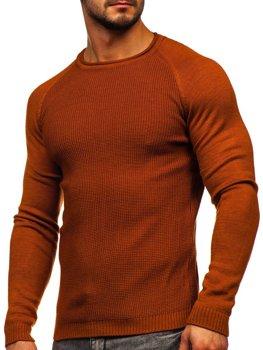Oranžový pánsky sveter Bolf 1009