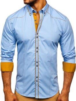 Pánska košeľa BOLF 4777 blankytná