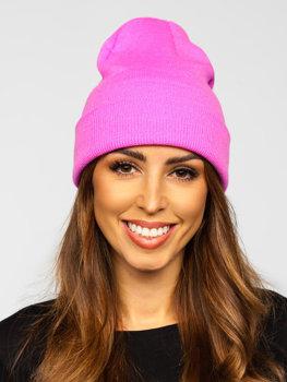 Ružová dámska zimná čiapka Bolf YW09004