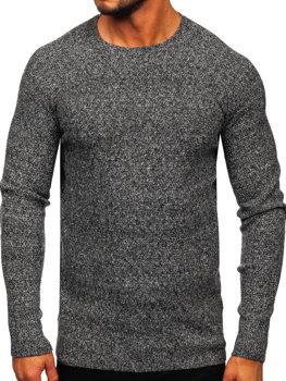 Šedý pánsky sveter BOLF H1810