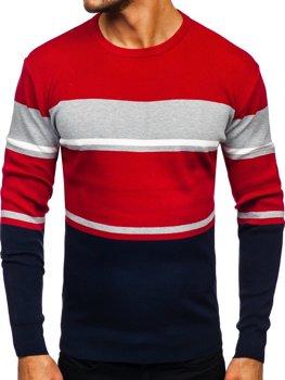 Tmavomodrý pánsky sveter Bolf H2068
