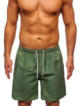 Zelené pánske kúpacie šortky Bolf ST003