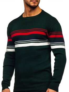 Zelený pánsky sveter Bolf H2061