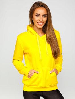 Žltá dámska mikina Bolf W02