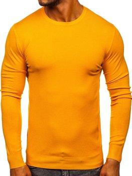 Žltý pánsky sveter Bolf YY01
