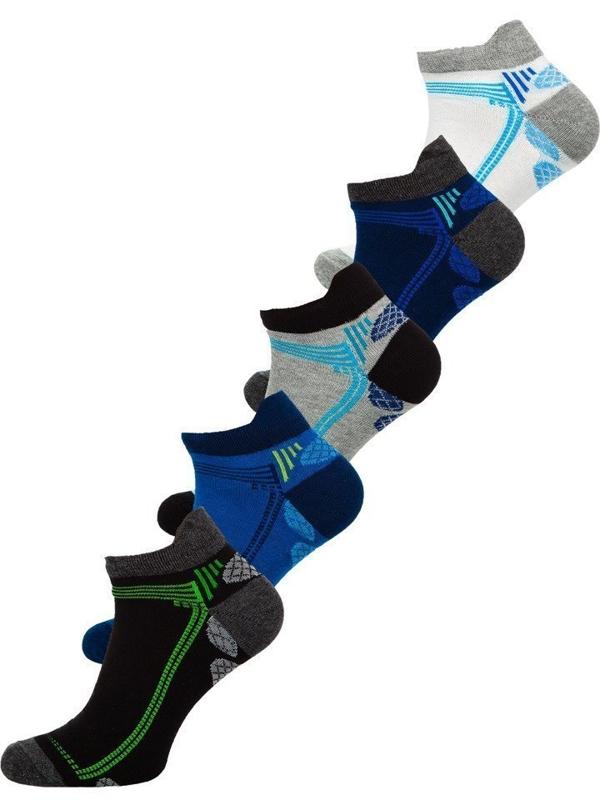 Farebné pánske ponožky BOLF X10054-5P 5 KS