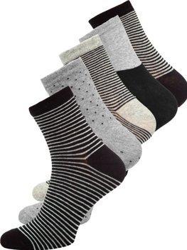 Farebné pánske ponožky Bolf  X10166-5P 5 PACK