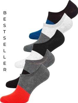 Farebné pánske ponožky Bolf  X10168-5P 5 PACK
