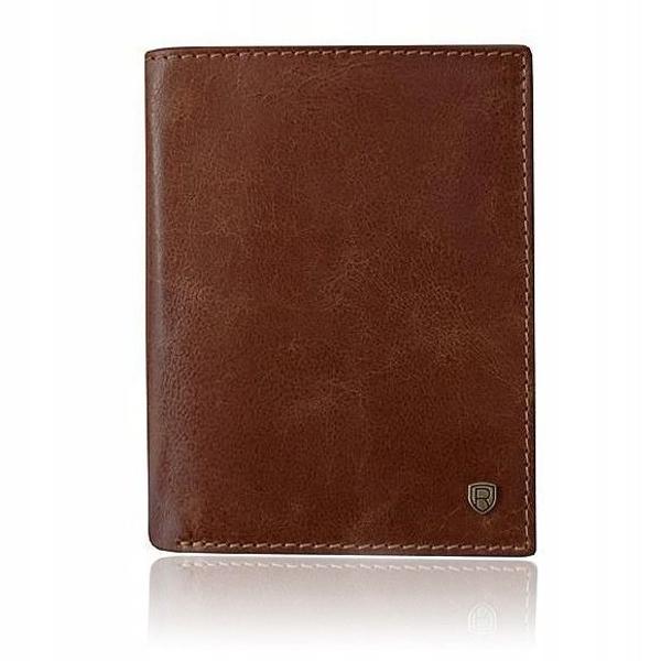 Hnedá pánska kožená peňaženka 922
