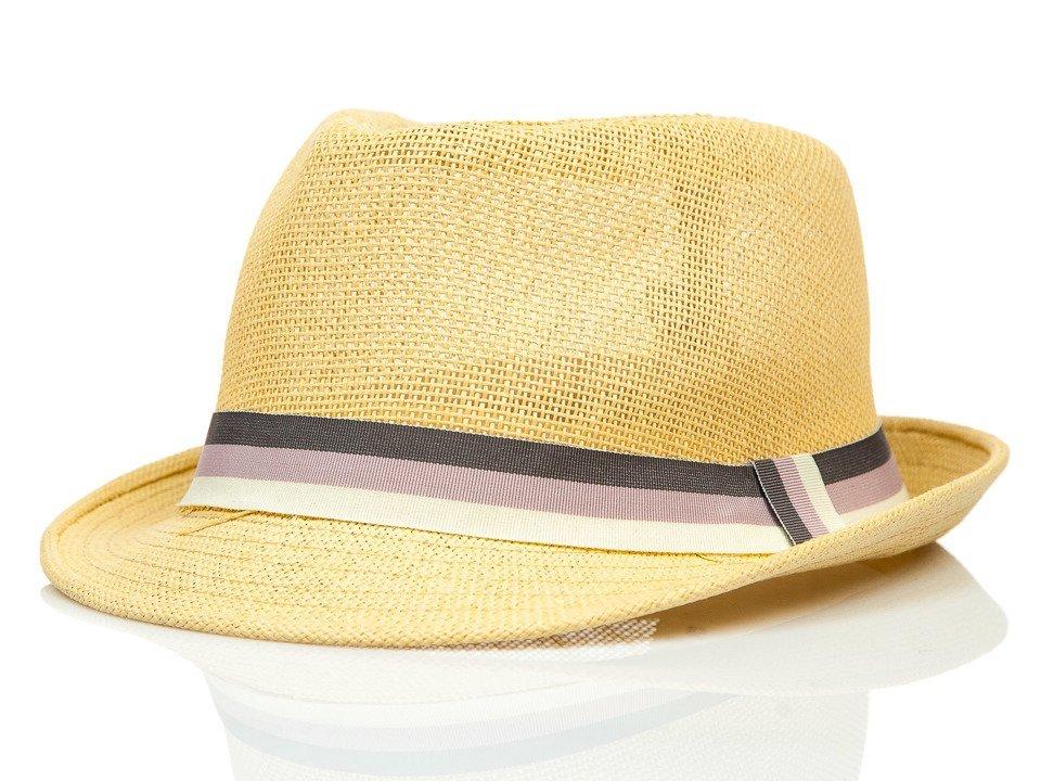 0aa7bc473 Béžový pánsky klobúk BOLF KAP214