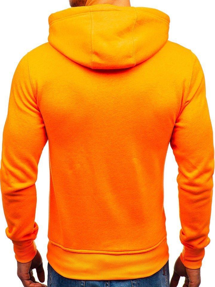 Svetlo oranžová pánska mikina s kapucňou BOLF AK47A 03aae05702e