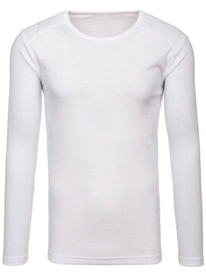 Biely pánsky nátelník bez potlače BOLF C10046