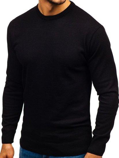 Čierny pánsky sveter BOLF 6001