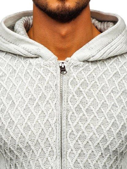 Ecru pánsky sveter BOLF 20016