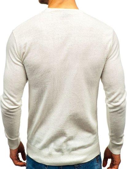Ecru pánsky sveter BOLF 6001