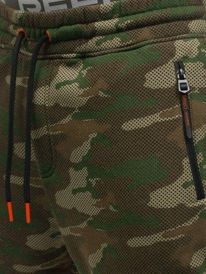 Farebné maskáčové pánske tepláky Bolf 3771B-A