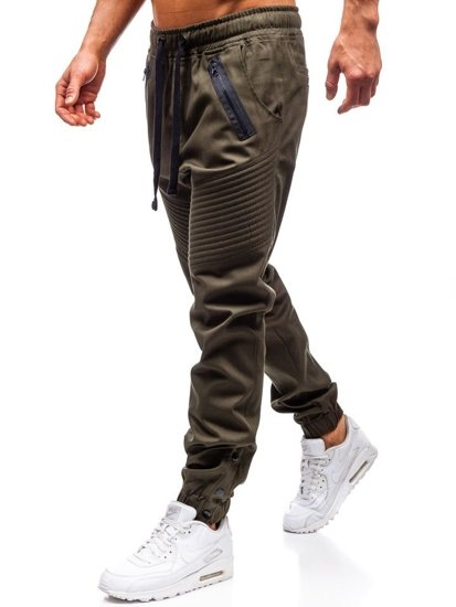 Kahki pánske jogger nohavice BOLF 0952