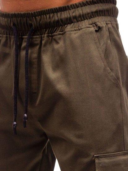 Khaki pánske kapsáče BOLF 0857
