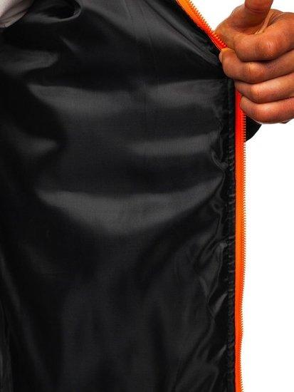 Tmavomodrá pánska prechodná bunda Bolf TY33