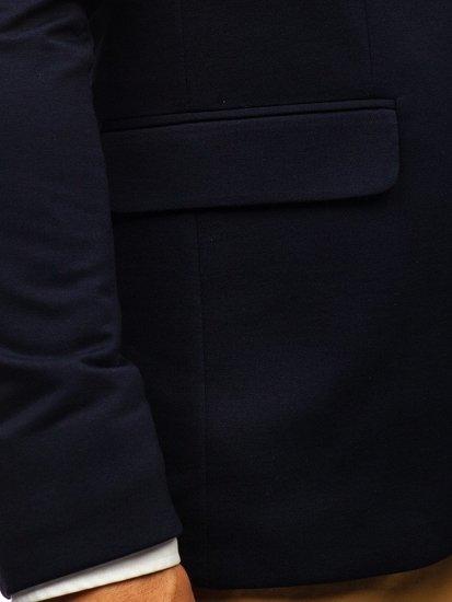 Tmavomodré pánske elegantné sako BOLF 191060