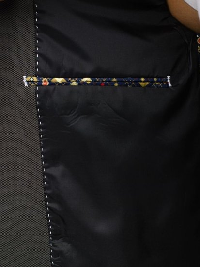 Zelené pánske elegantné sako BOLF 303