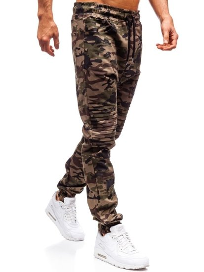 Zelené pánske jogger kapsáče BOLF 0829