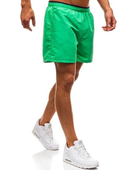 Zelené pánske kúpacie šortky BOLF Y768