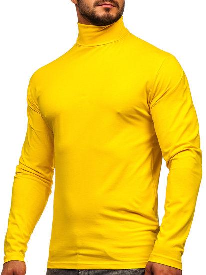 Žltý rolák bez rukávov Bolf S6963