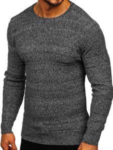 Šedý pánsky sveter Bolf H1926