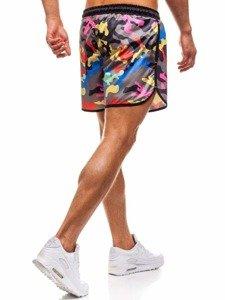Viacfarebné pánske kúpacie šortky BOLF Y732F